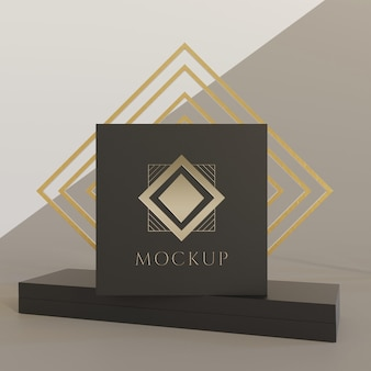 Jewelry packaging display mock up Premium Psd