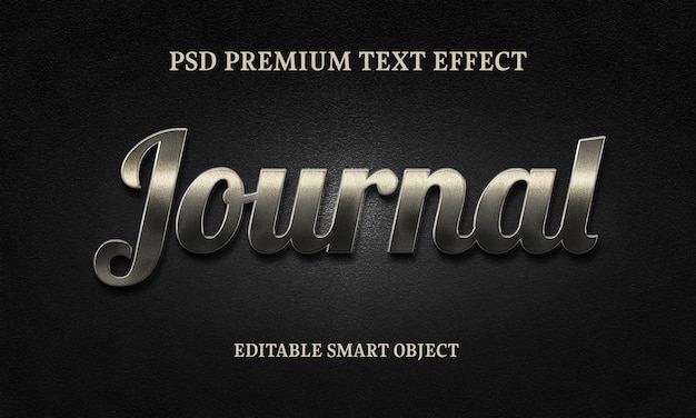 Journal text effectportrait of beautiful woman