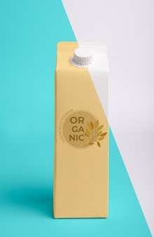 Juice carton with cap