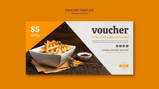 Juicy burger week with fries and soda voucher