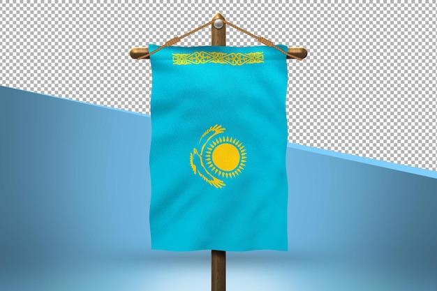 Казахстан повесить флаг дизайн фона