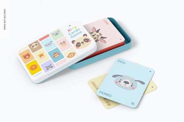 키즈 카드 게임 모형, 열림