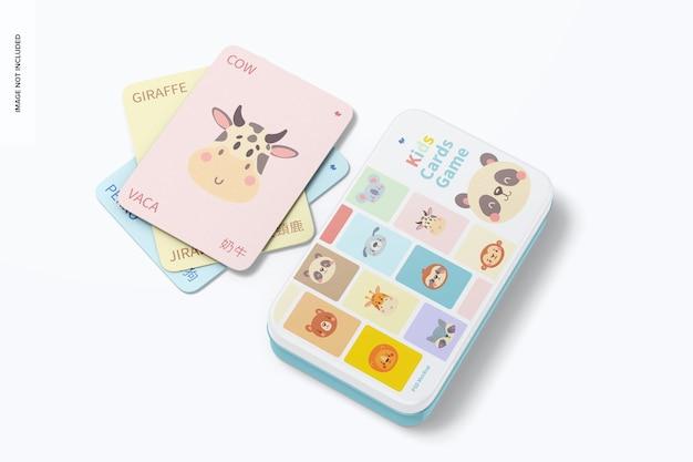 키즈 카드 게임 모형, 평면도