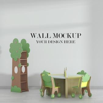 Макет стены в классе детского сада