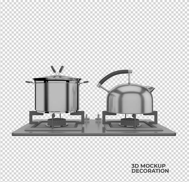 キッチンアクセサリーの装飾