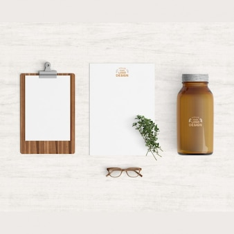 Kitchen products mock up