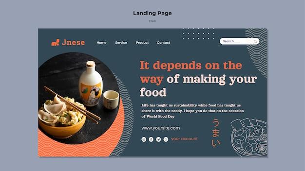 Веб-шаблон безопасности кухни с фото