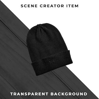 Вязаная шапка изолированы с отсечения путь.