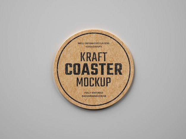 Kraft напиток coaster макет