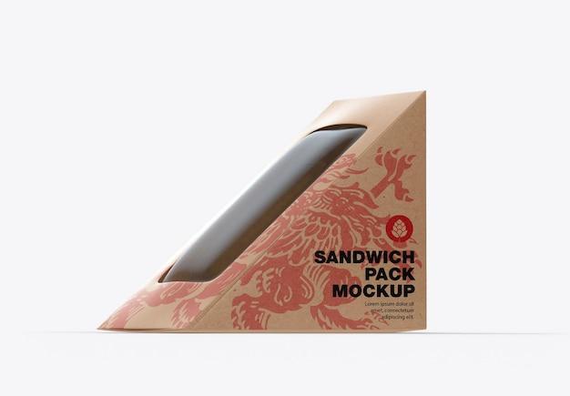 크래프트 샌드위치 팩 모형