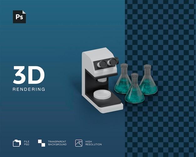 Иллюстрация лабораторного оборудования