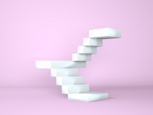 Лестница с подиумом для презентации новинок