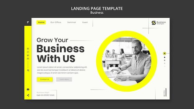 Progettazione del modello aziendale della pagina di destinazione