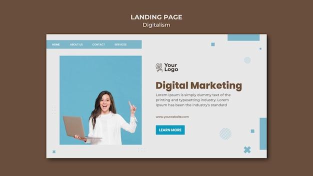 ランディングページテンプレートビジネス広告