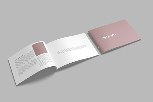 Изолированные макеты брошюры ландшафта