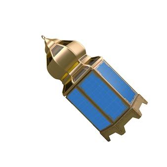 Lantern mockup on white