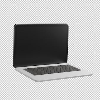 Laptop 3d illustration