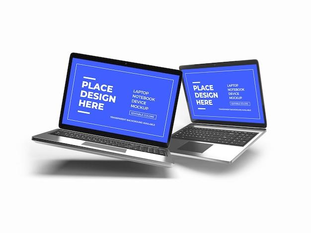 노트북 장치 모형