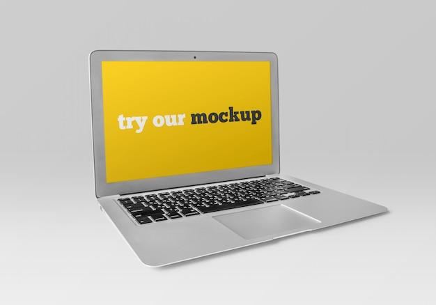 Дизайн макета ноутбука