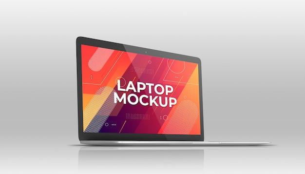 Laptop mackbook mockup
