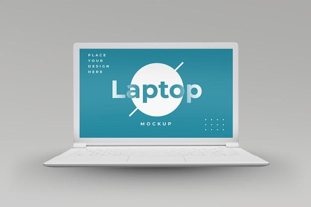 노트북 모형 디자인 절연 디자인