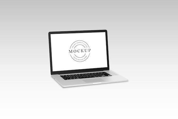 고립 된 노트북 이랑 디자인