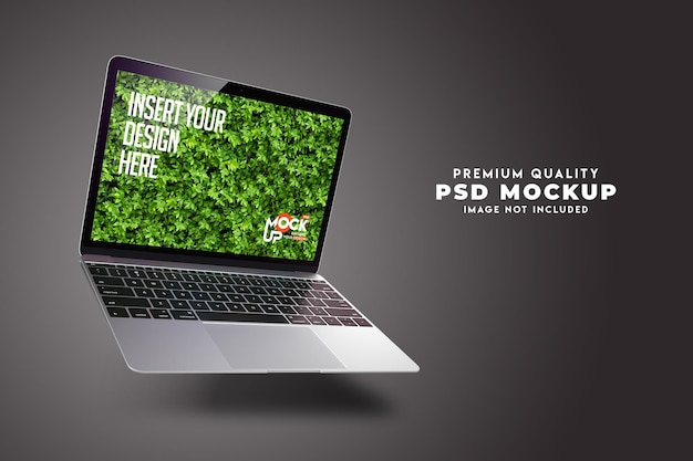 Ноутбук mockup premium psd