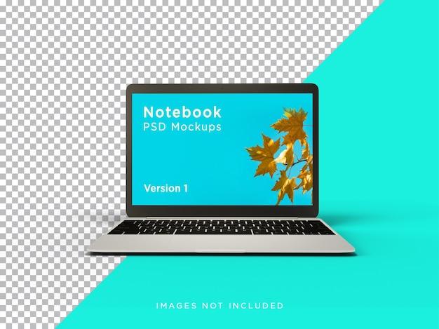 노트북 이랑 현실적인 전면보기 절연