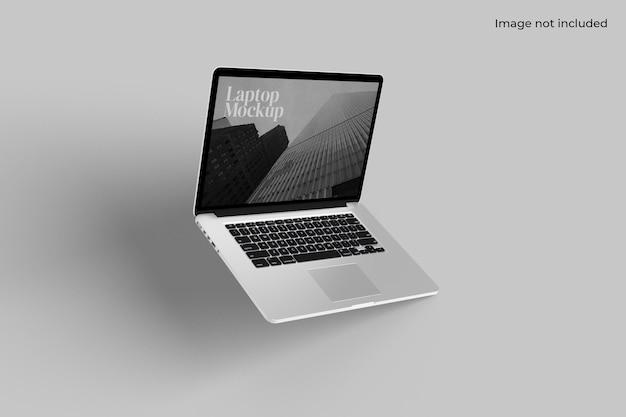 노트북 모형 프리미엄 PSD 파일