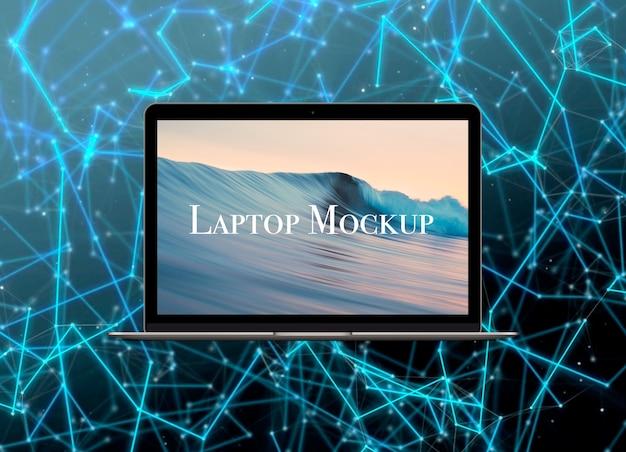 Ноутбук-mockup