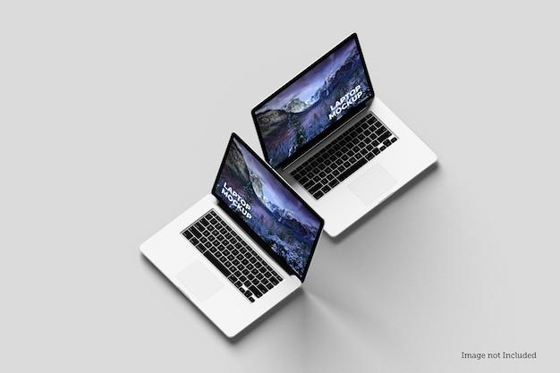 Мокапы ноутбуков