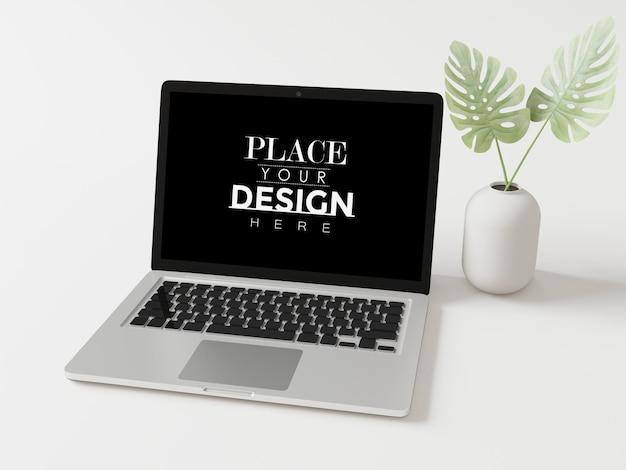 작업 공간 모형의 노트북