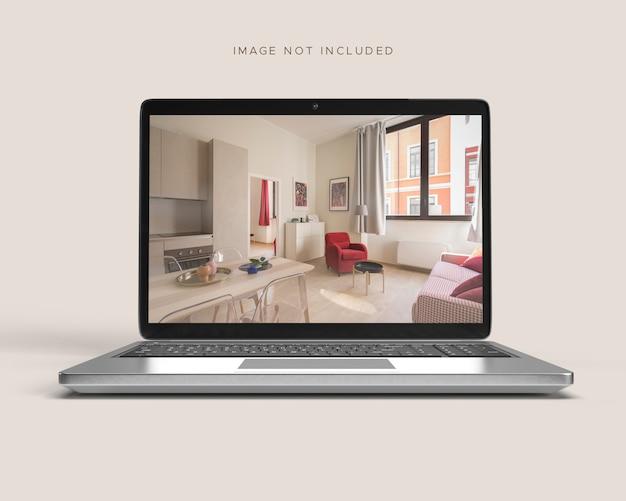 Макет ноутбука или ноутбука