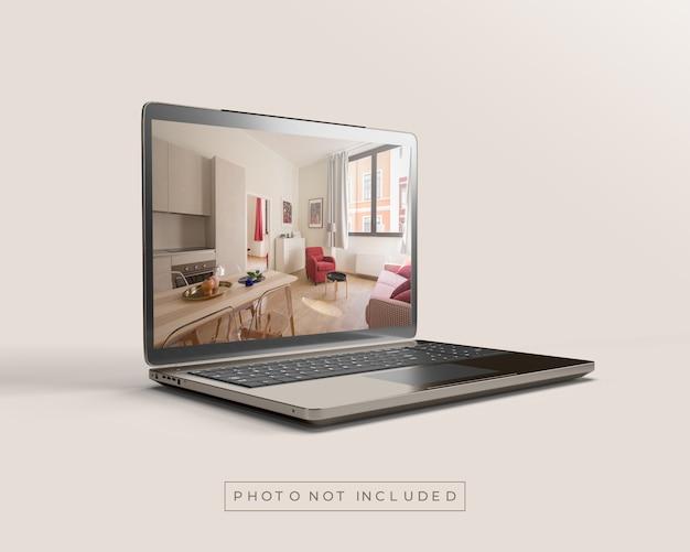 노트북 또는 노트북 모형
