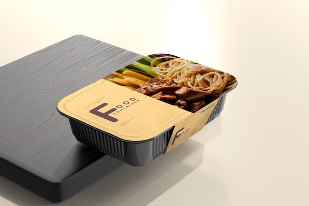 대형 식품 용기 모형