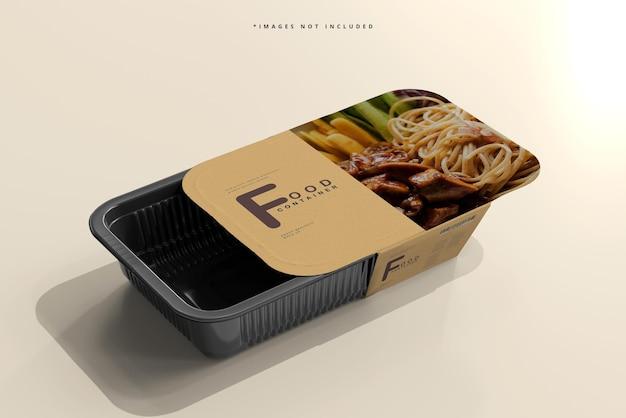 Мокап контейнера для еды большого размера