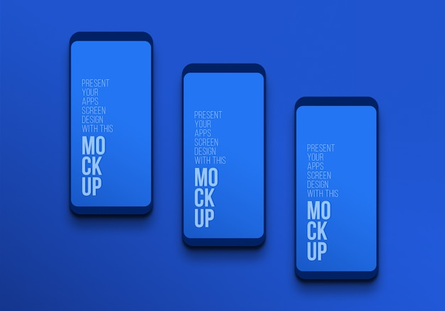 Latest smart phone pro mockup to present artwork premium psd