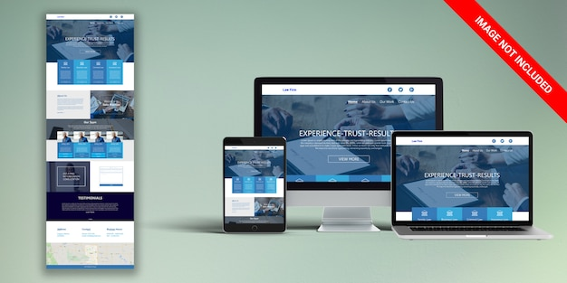 Law web template