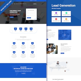 Веб-интерфейс ведущего поколения