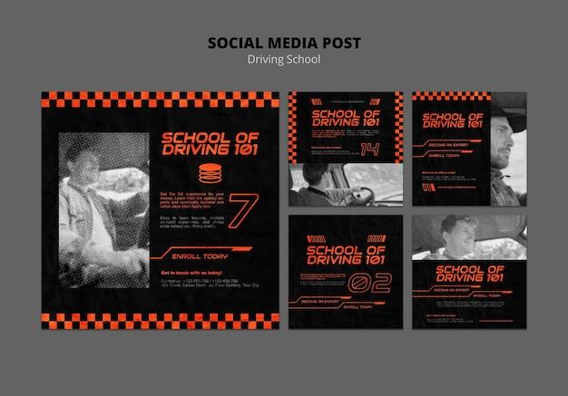 Impara a guidare i post sui social media