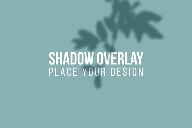 シャドウオーバーレイとウィンドウシャドウオーバーレイ効果の透明な概念を残します
