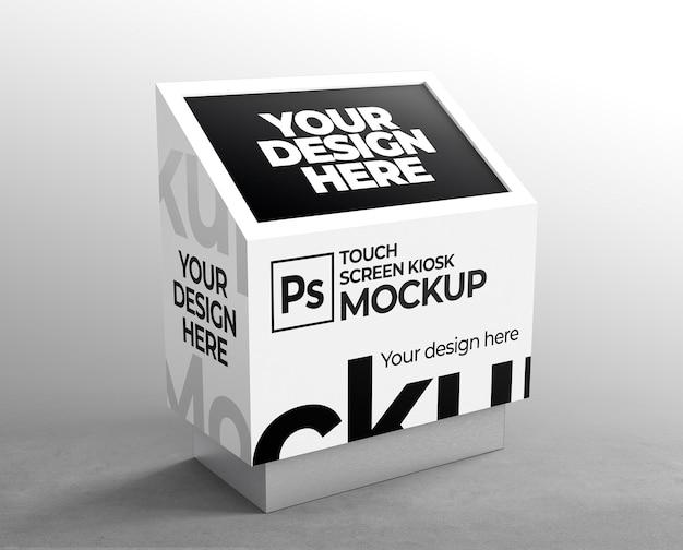 Мокап светодиодной витрины для брендинга и рекламных презентаций