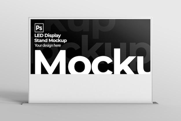 브랜딩 및 광고 프레젠테이션을 위한 led 디스플레이 스탠드 모형