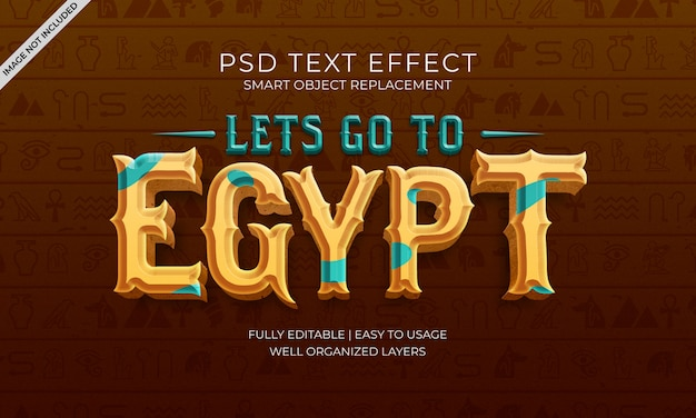 이집트 텍스트 효과로 이동
