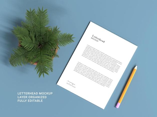 Дизайн макета фирменного бланка