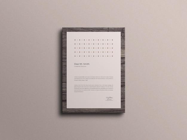 Modello di carta intestata