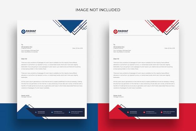 Sample Letter Head Template from img.freepik.com