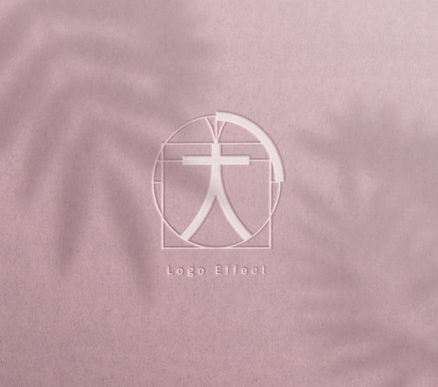Макет логотипа высокой печати