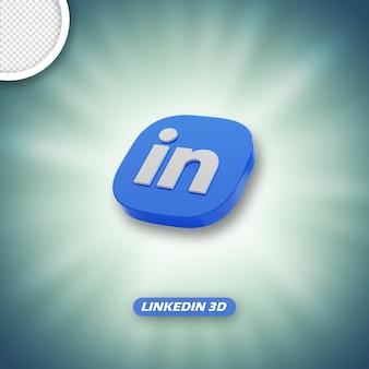 링크드인 3d 아이콘