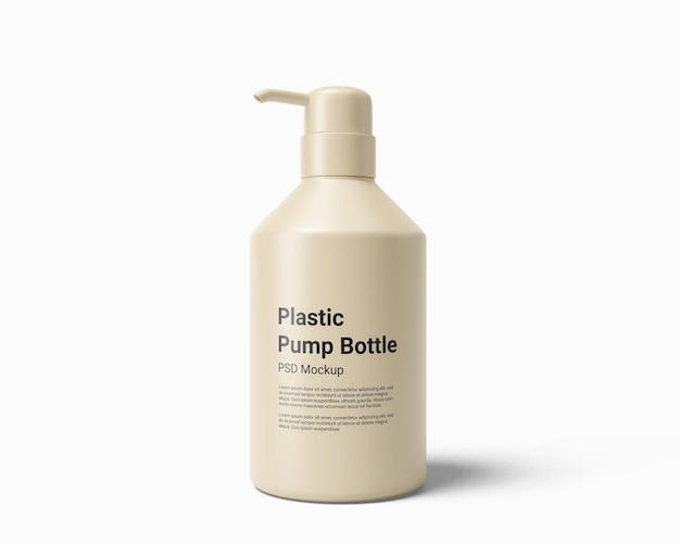 ポンプモックアップ付き液体石鹸ディスペンサーペットボトル
